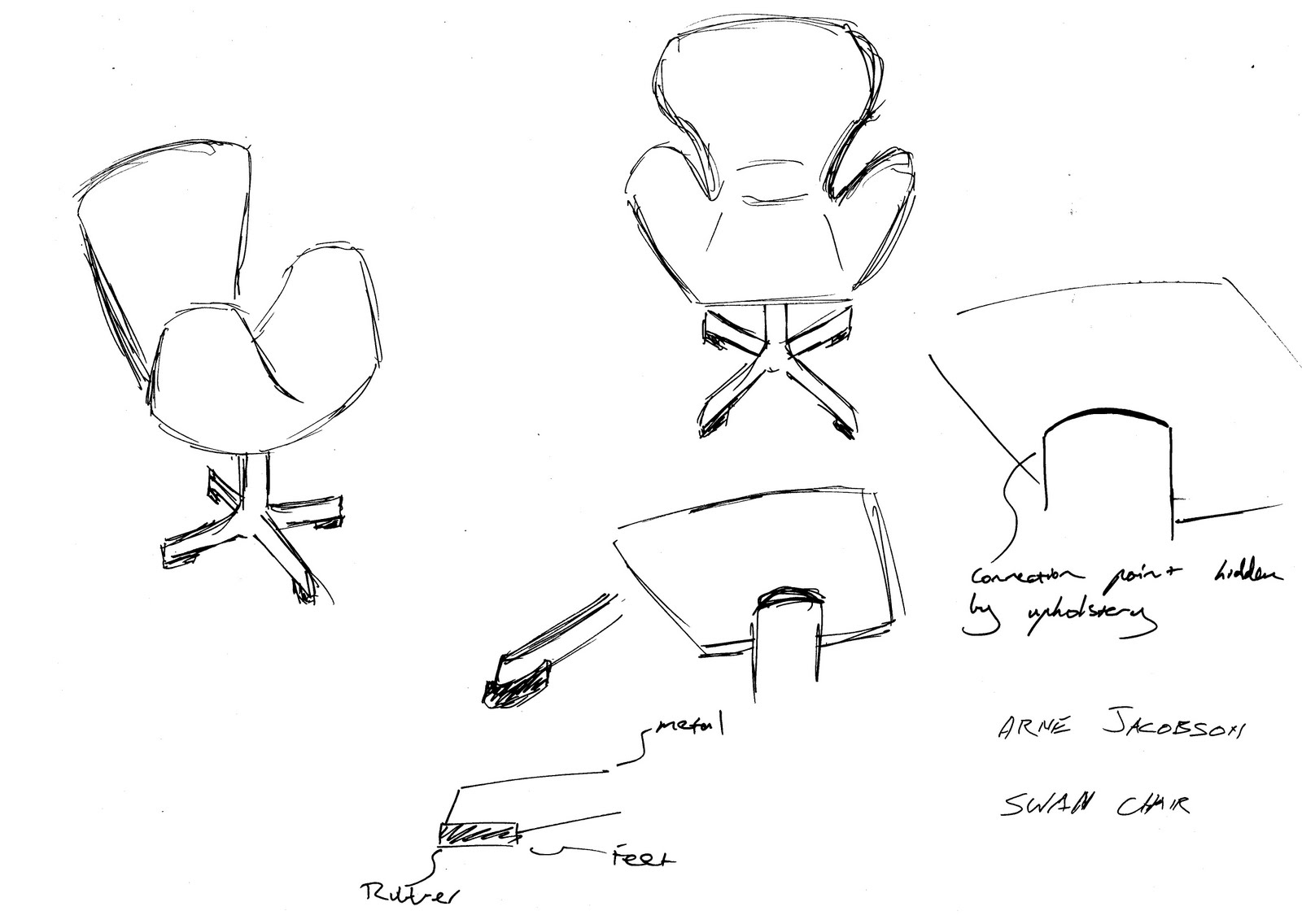 Furniture Design Blog Ngv Chair Sketches