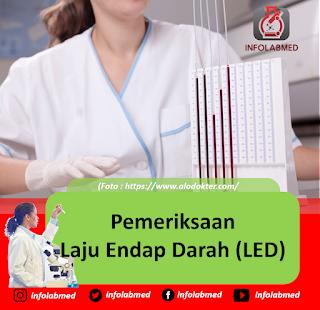 Pemeriksaan Laju Endap Darah (LED)