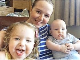 Blogger Mom Of Two and her children