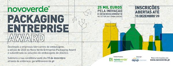 Novo Verde Packaging Entreprise Award procura as melhores ideias e soluções no setor das embalagens de plástico