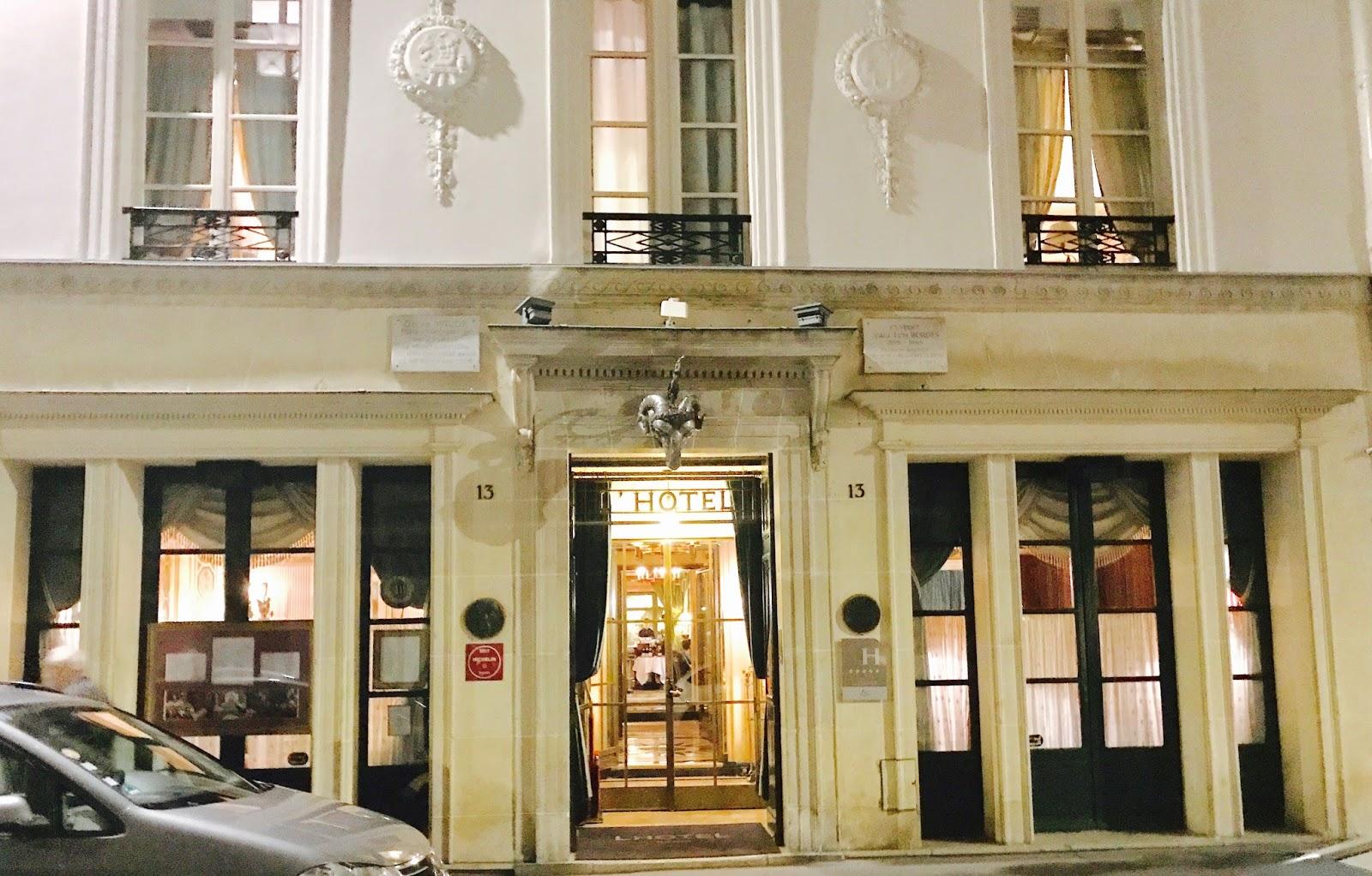 Paris missives - Rue des beaux arts ...