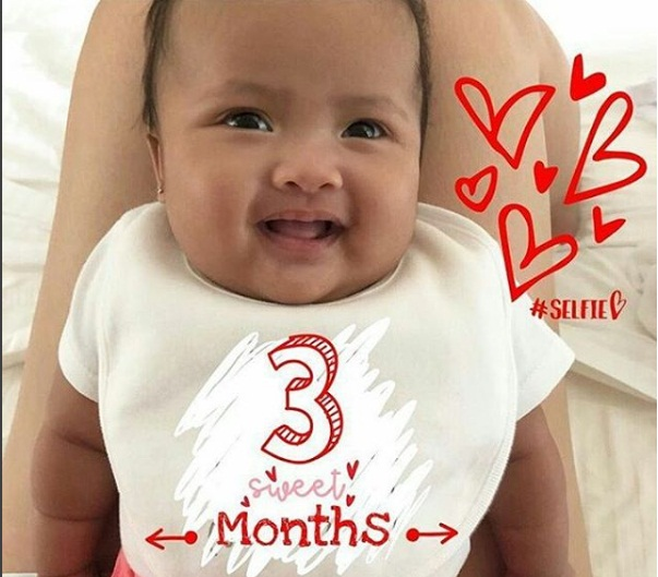 "Baby Tali is her mom's ""little morena version"""