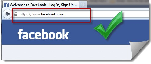 facebook login in homepage