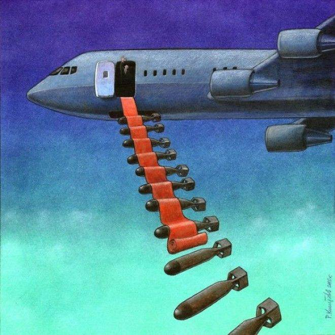 Amazing Drawings by Pawel Kuczynski on the Topic of Current Problems of Modern Society