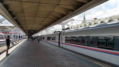 Tren de Moscu a San Petersburgo