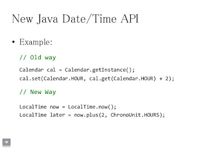 Java Date and Calendar vs Date and Time API