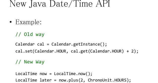 Calendar April Java : Reasons why java s old date and calendar api was bad