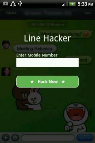 Line Desak Pengguna Segera Ubah Password
