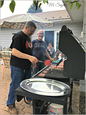 June 1, 2019 At a wonderful family BBQ.