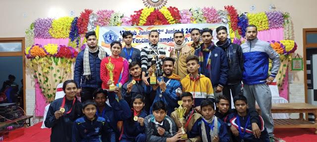 Bihar Fencing team