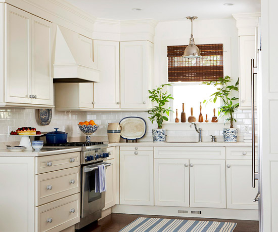 New Home Interior Design: Make A Small Kitchen Look Larger