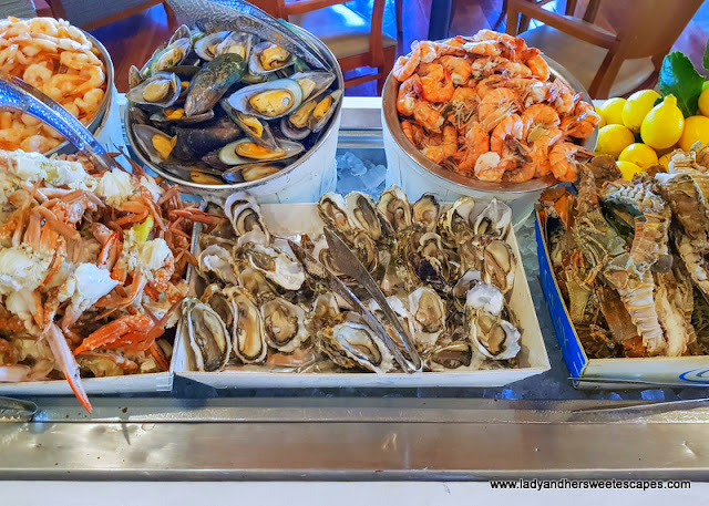seafood at GourMed Brunch The Cove Rotana