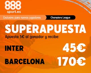 888sport superapuesta champions Inter vs Barcelona 10 diciembre 2019