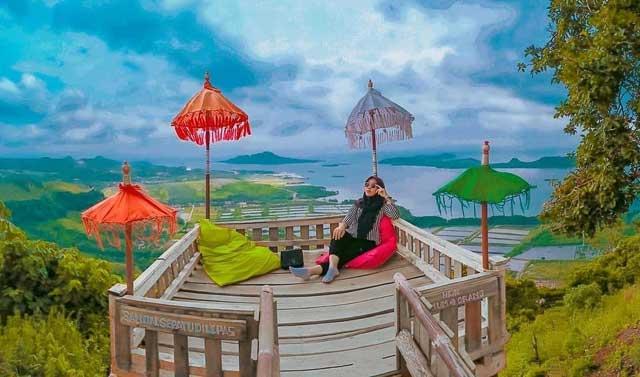 Spot foto di Bukit Pematang Sunrise
