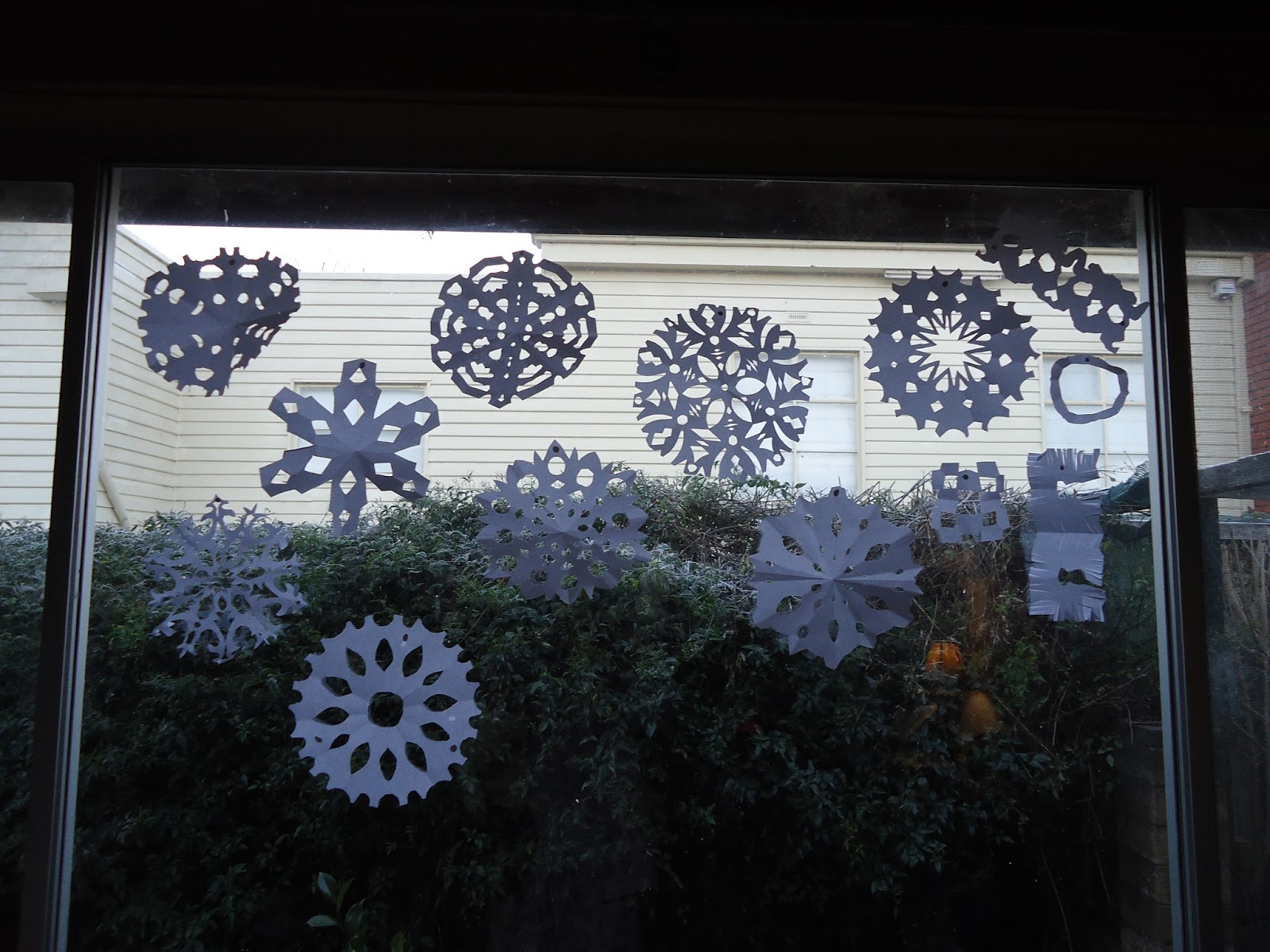 the Torrents Times: Paper Snowflakes