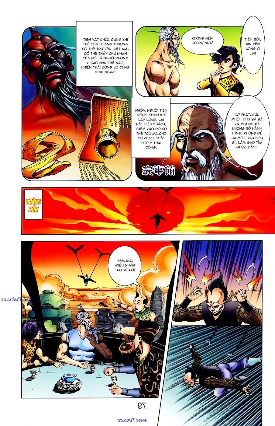 Cơ Phát Khai Chu Bản chapter 104 trang 19