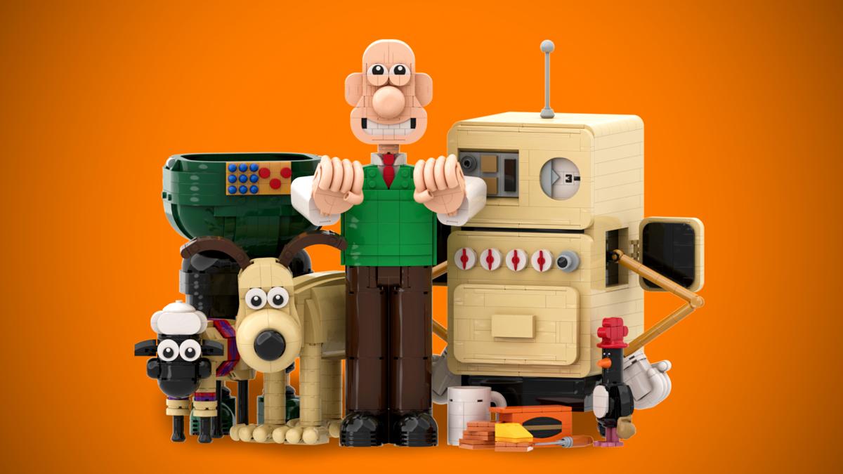 レゴアイデアで『ウォレスとグルミット』が製品化レビュー進出!2020年第3回1万サポート獲得デザイン紹介