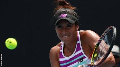 SPORT: Heather Watson loses to Anastasia Potapova in Budapest tennis tournament.