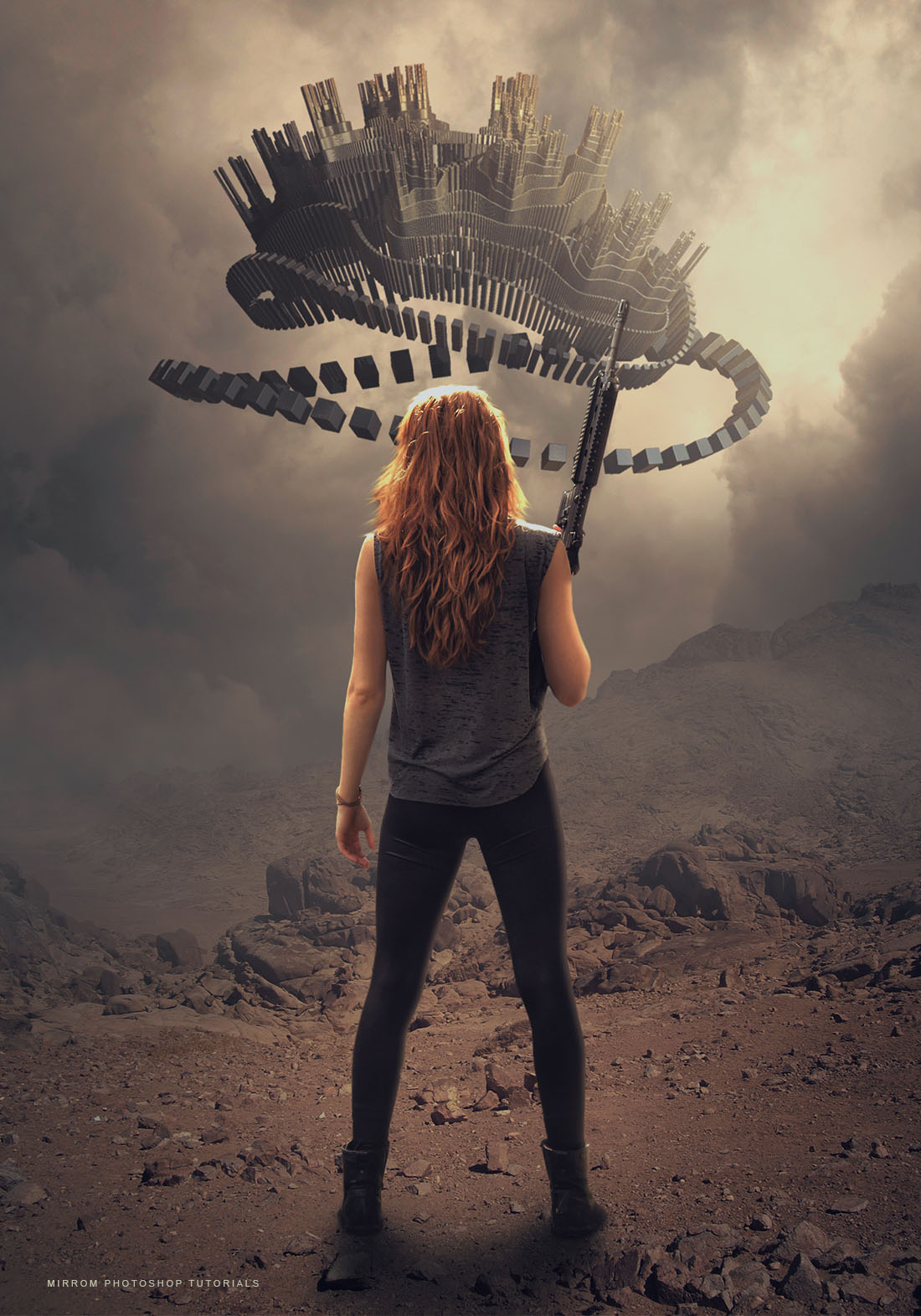 Create a Sci-Fi Photo Manipulation Effects in Photoshop