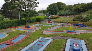 Crazy Golf course at Victoria Park in Scarborough