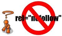Website Seo link rel='nofollow' attribute