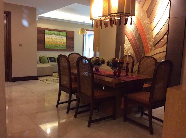 Phòng ăn dự án The Link 345