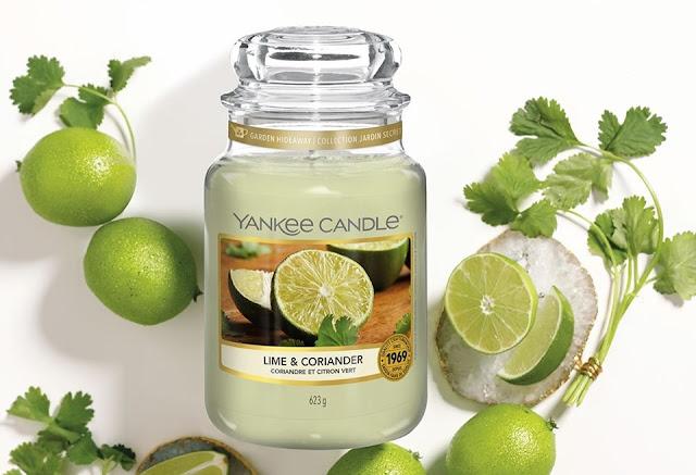 Yankee Candle Lime Coriander avis, yankee candle lime and coriander, lime coriander yankee candle, bougie yankee candle coriandre et citron vert, yankee candle coriandre citron vert, parfum yankee candle été, bougie parfumée yankee candle été 2020, yankee candle nouveauté 2020, coriandre et citron vert yankee candle avis, avis bougie yankee candle coriandre et citron vert, bougie parfumée au citron vert