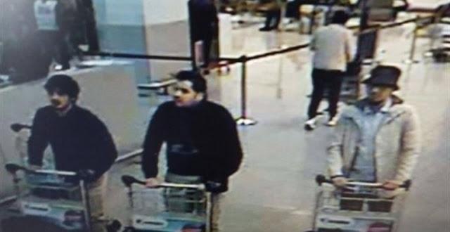 Policía belga busca identificar a sospechoso de atentados terroristas