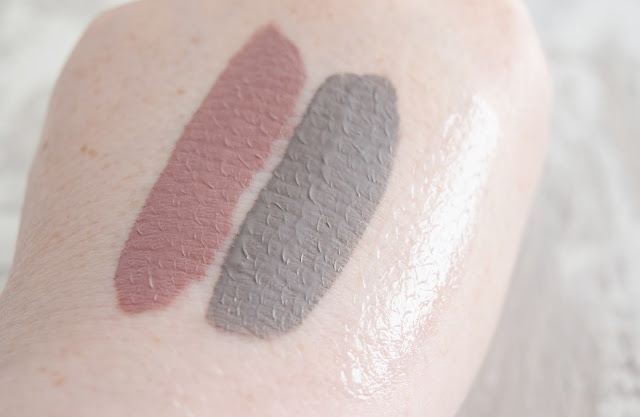 liquid lipstick hand swatches