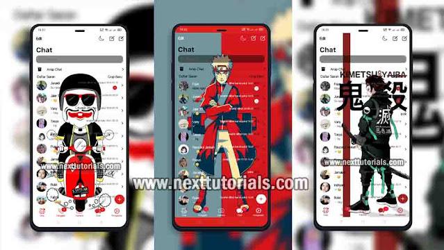 Kumpulan Tema RA WhatsApp iOS v8.93 Tampilan Keren Terbaru 2021,install aplikasi whatsapp mod anti banned,download ra wa ios apk terbaik 2021,rawa ios rebaru 2021