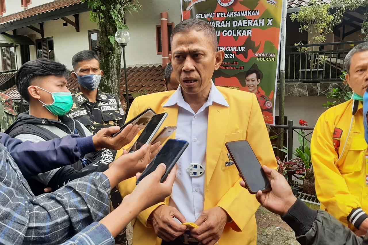 Musda X Golkar, Secara Aklamasi Tb Mulyana Syahrudin Pimpin Kembali DPD Partai Golkar Cianjur
