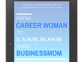 From Career Woman to SAHM, WAHM then Businessmom: Lessons from My Transitions (Book Review)
