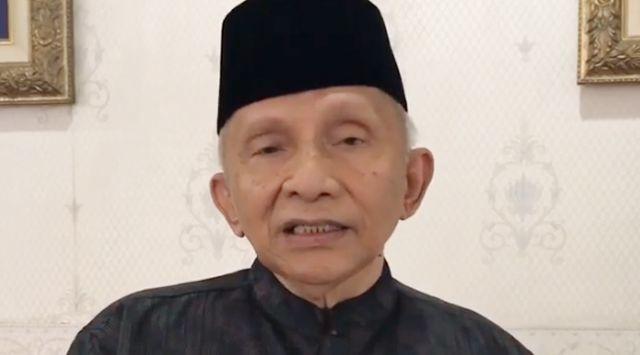 PDIP Minta Amien Rais Tobat, Berhenti Jadi Sengkuni
