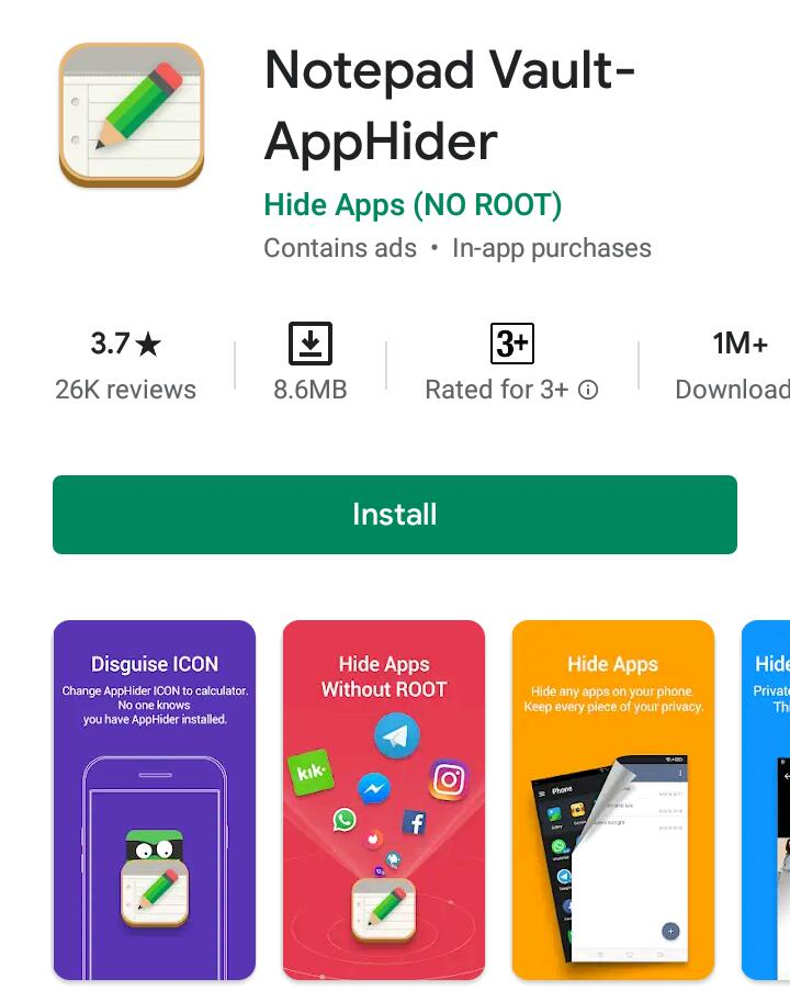 Free apps for hiding personal apps and photos in 2021