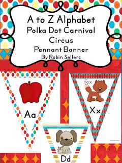 classroom carnival pennants