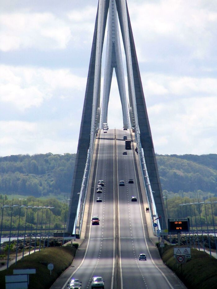 Bridge of Normandy, France