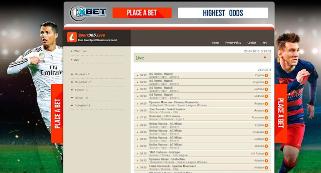 Situs Terbaik Nonton Live Streaming Sepak Bola Online - WandiWeb