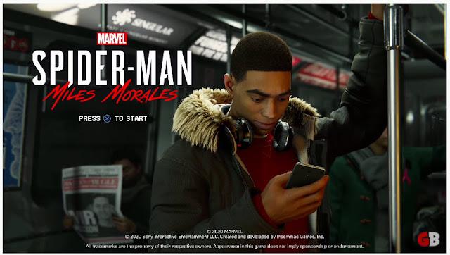 Captured on Marvel's Spider-Man: Miles Morales