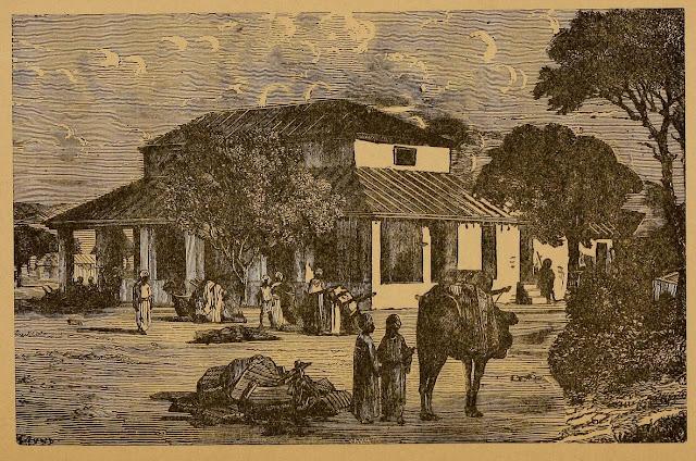 Travellers'-Bungalow+India+Illustration+1876