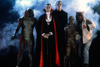 The Monster Squad Count Dracula Frankenstein Wolfman Mummy Gill Man