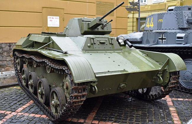 Tank T-60 Uni Soviet