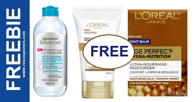 FREE L'Oreal Age Perfect Moisturizer at CVS 2-2-2-8