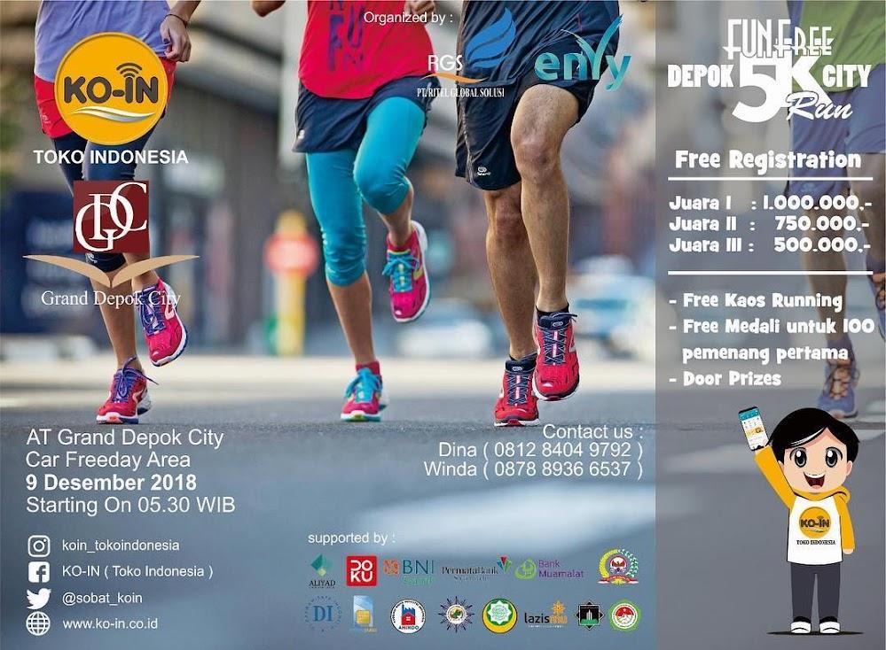 Fun Free Depok - City Run • 2018
