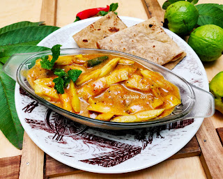 Amrood ki Subzi/ Guava curry/ Seebe gravy