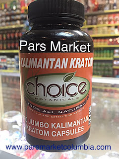 Kalimantan Red Vein Kratom at Pars Market Columbia Maryland 21045