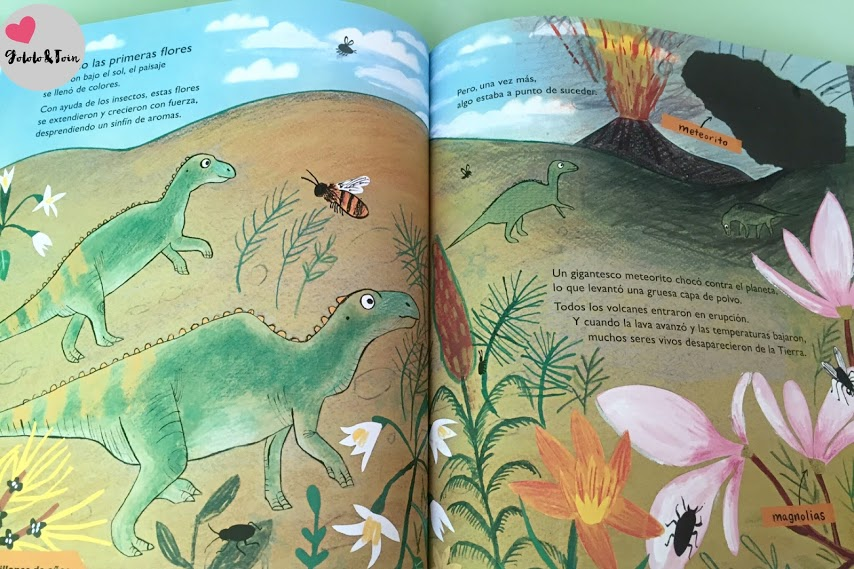 dinosaurios-vida-en-la-Tierra-desde-entonces-hasta-ahora-libro-infantil-SM