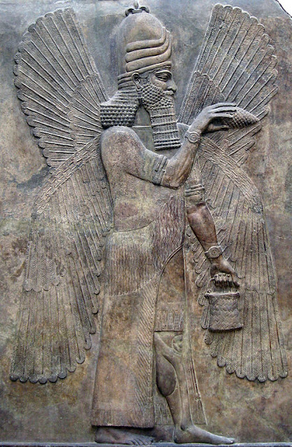Sumerian winged god