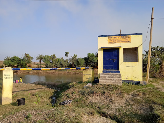 Lift Irrigation system by ACF in Farakka