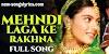 Mehndi Laga Ke Rakhna Lyrics | Lata Mangeshkar