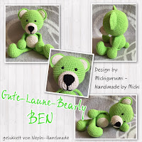 Bearly Ben gehäkel